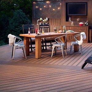 Terase lemn tip deck