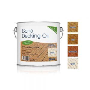 Ulei intretinere lemn exterior Bona decking oil neutru