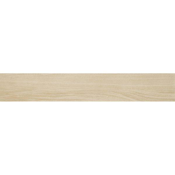 Gresie aspect parchet stejar bej Hasel beige 16.0x98.5 cm Paradyz
