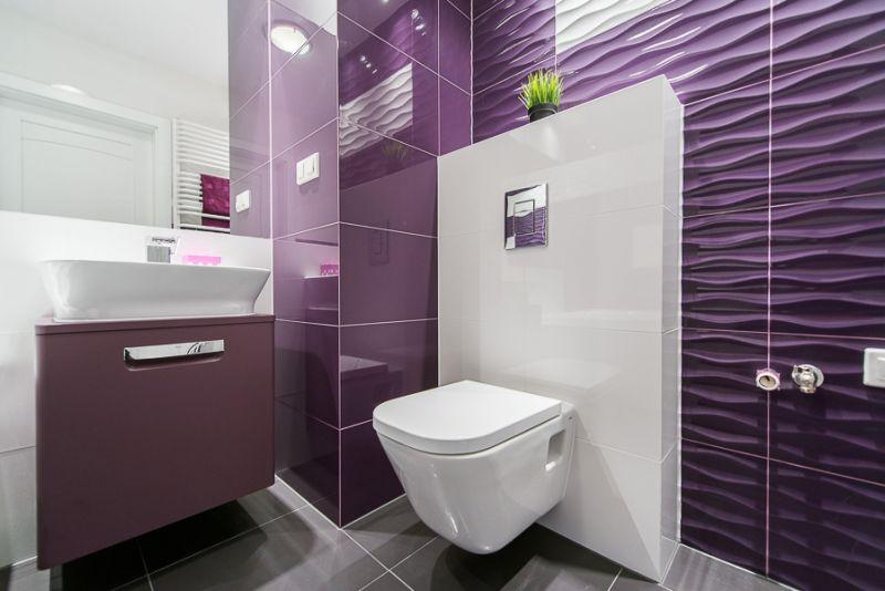 Faianta baie violet Tubadzin