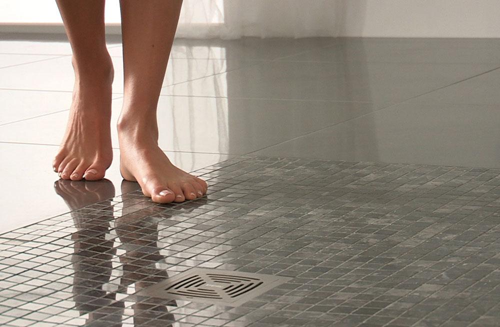 Gresie antiderapanta baie