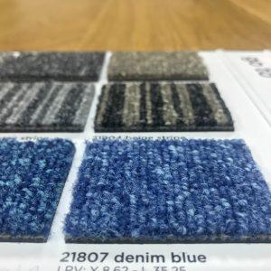 Mocheta albastra 50x50 acustica Go To 21807 Denim blue Burmatex detaliu